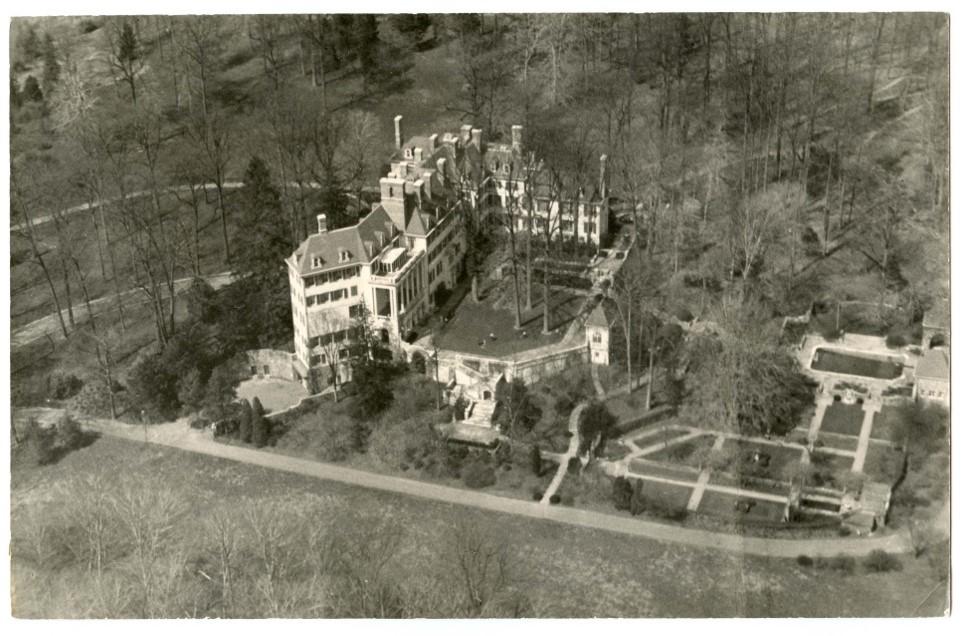 Winterthur Aerial View, 1930's