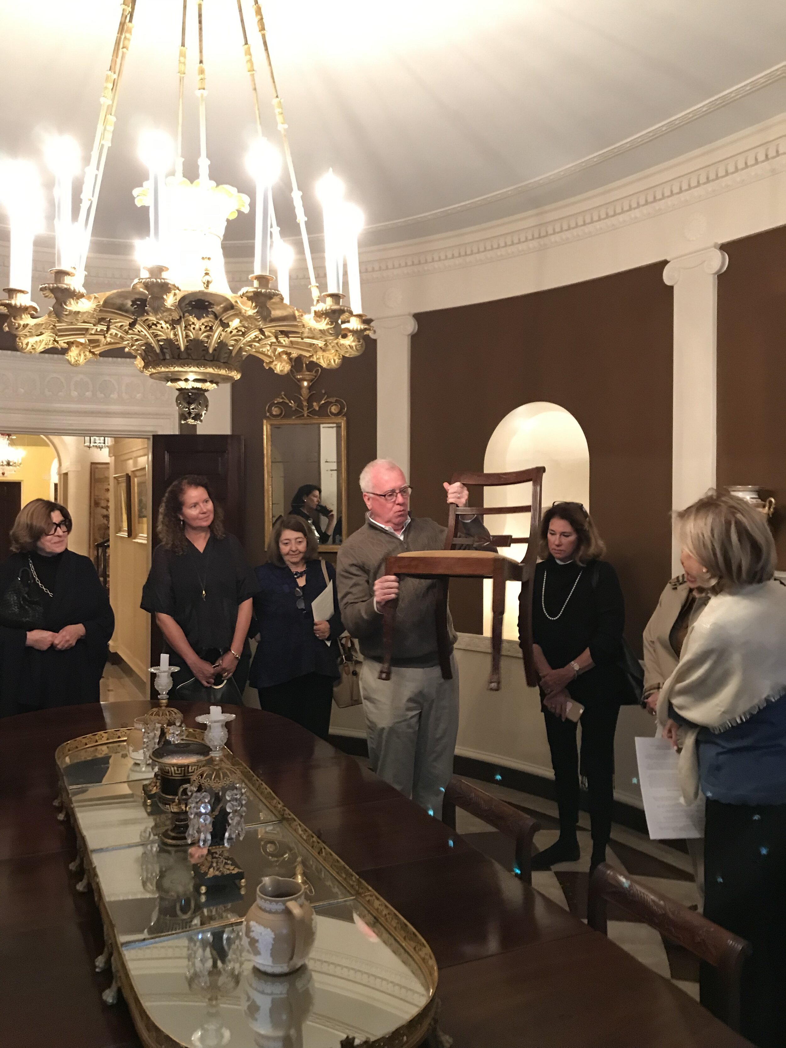 Classical American Homes Preservation Trust - George Baker House   Tour of the Baker House hosted by   Peter M. Kenny   , Co-President, Classical American Homes Preservation Trust  - October 2019