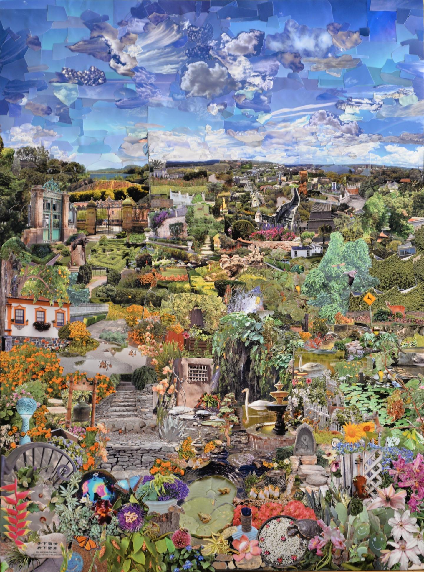 Panel 3 - Spring Garden