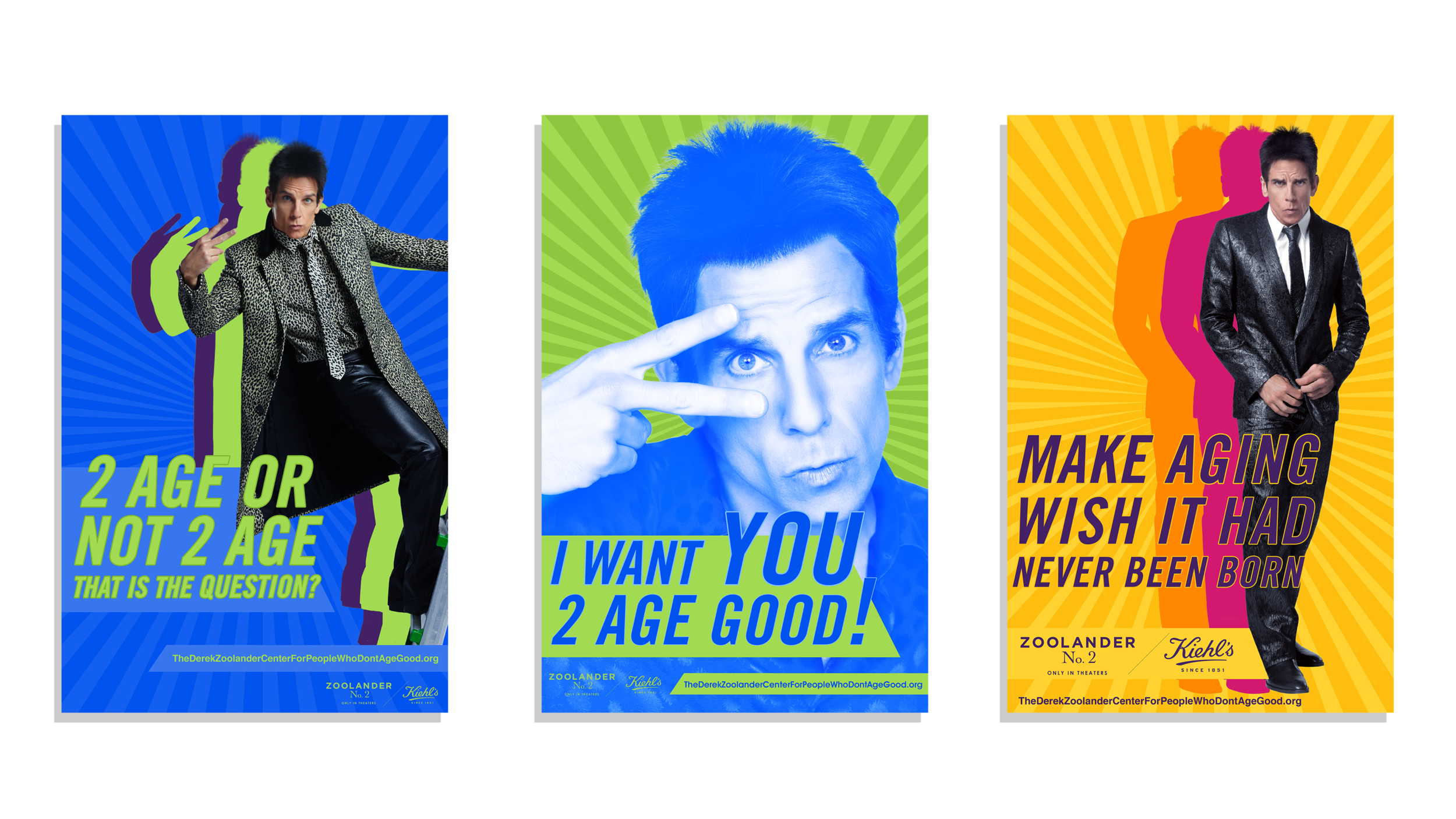My top three favorite posters for the campaign.