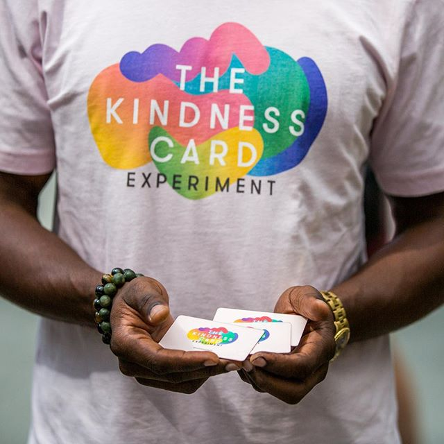 Keep passing your cards on! The month-long Kindness Card experiment is coming to an end soon! #KindnessIsHere