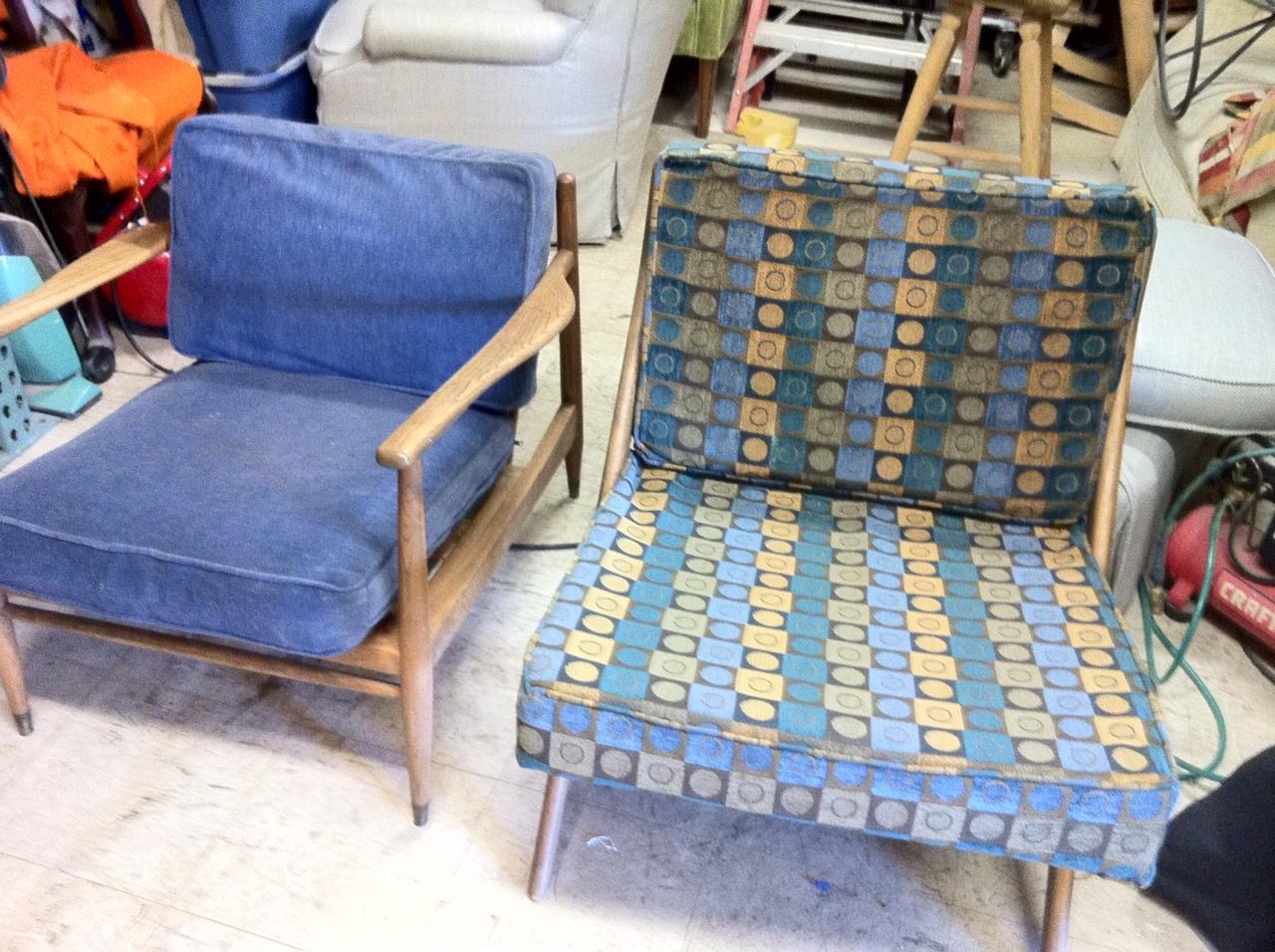 Danish Chairs - Before