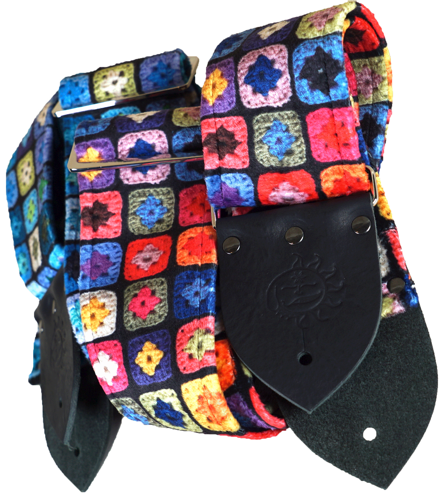 dog days guitar straps granny square guitar strap velvet.png