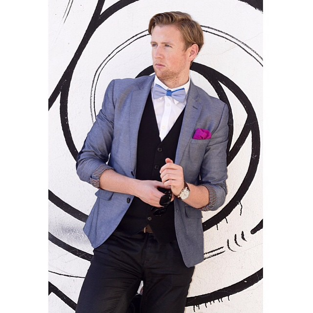 Our #mcm goes out #JamesBond... Um... We mean @francismaxwelltyt.  Tap for outfit details!  #ootd #mensfashion #spring