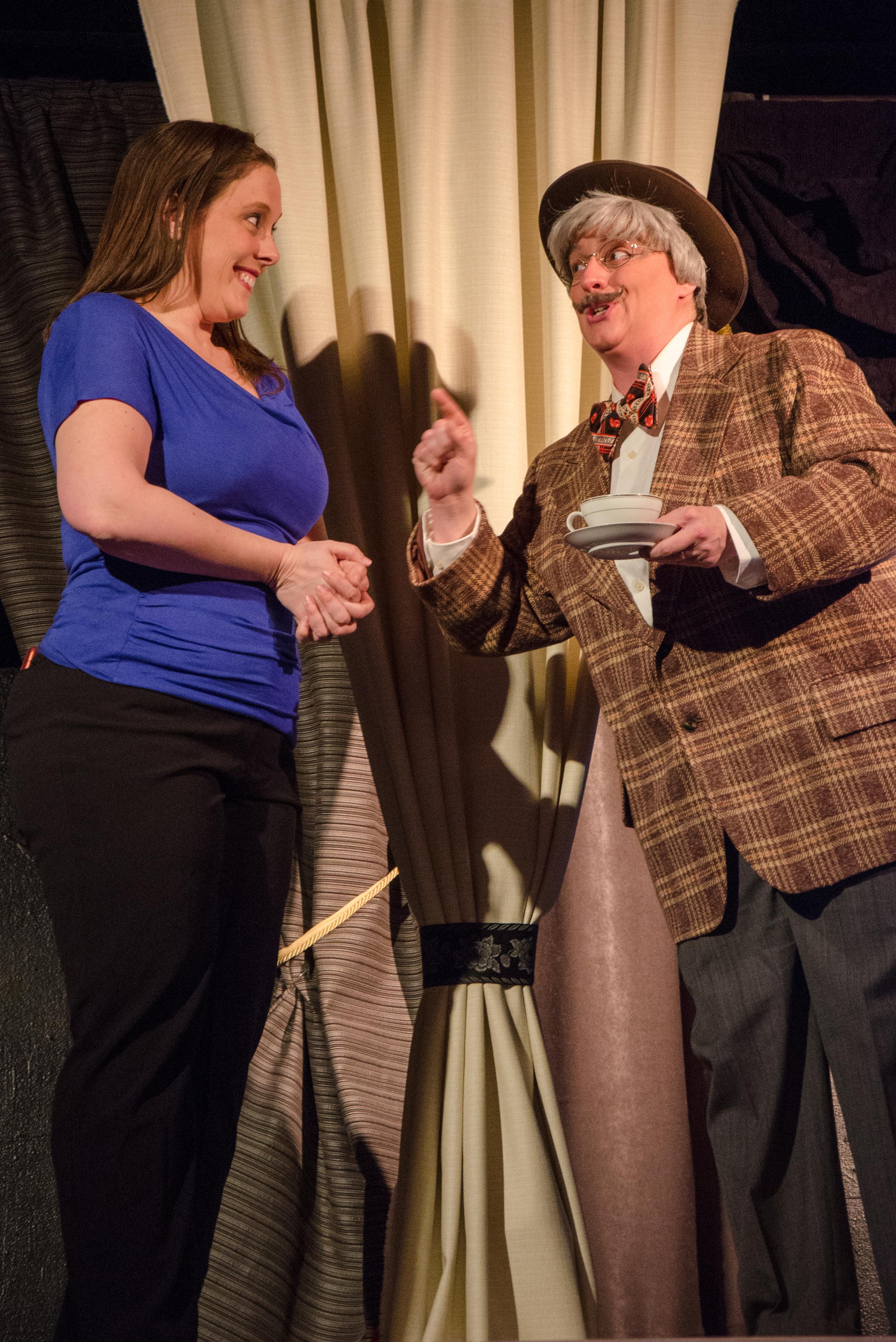 Jessica (Tara Herweg-Mann), Lord Derby (Melissa Himmelreich Nicholson)