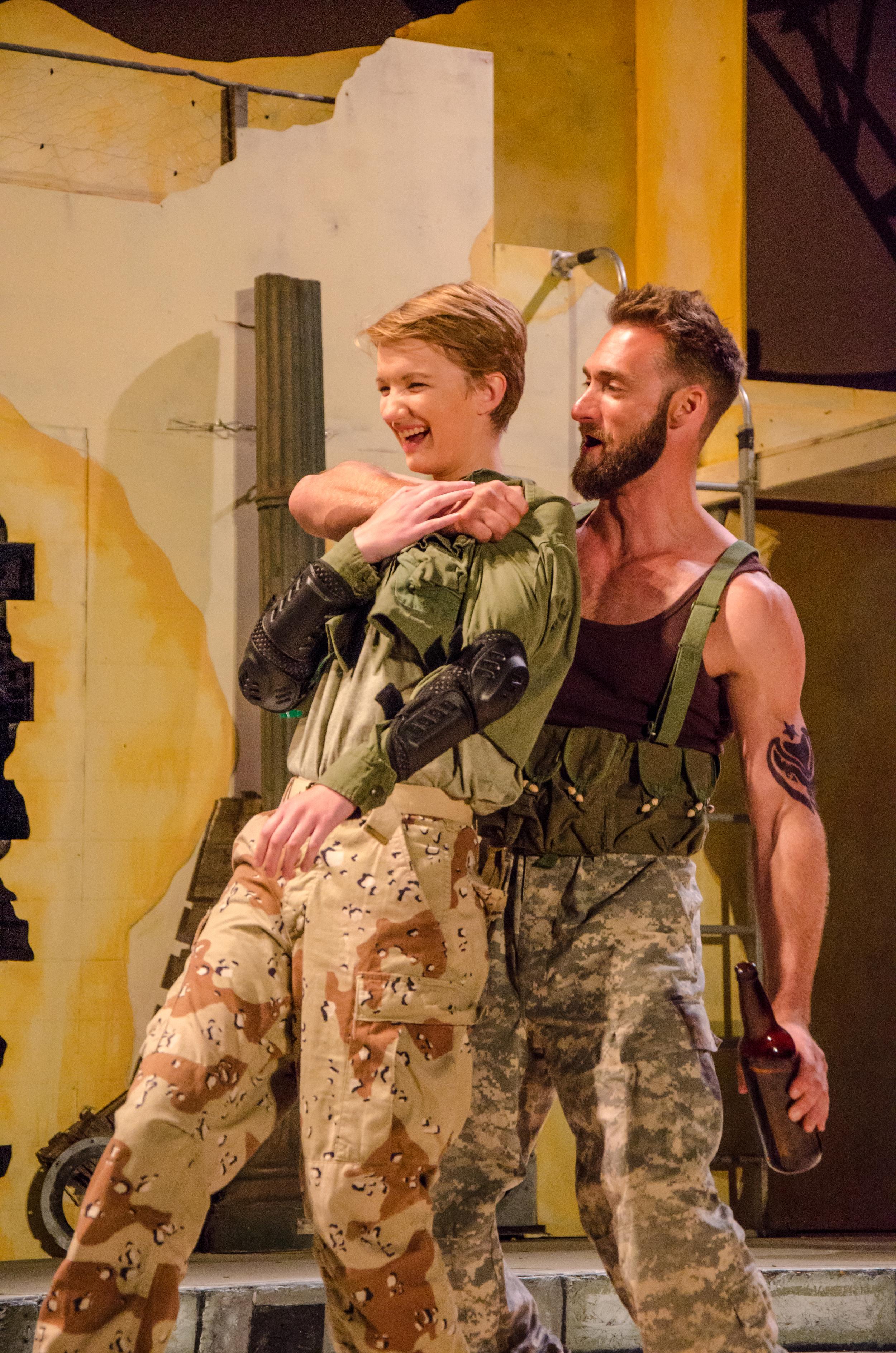 Patroclus (Rose Weber), Achilles (Ian Potter)