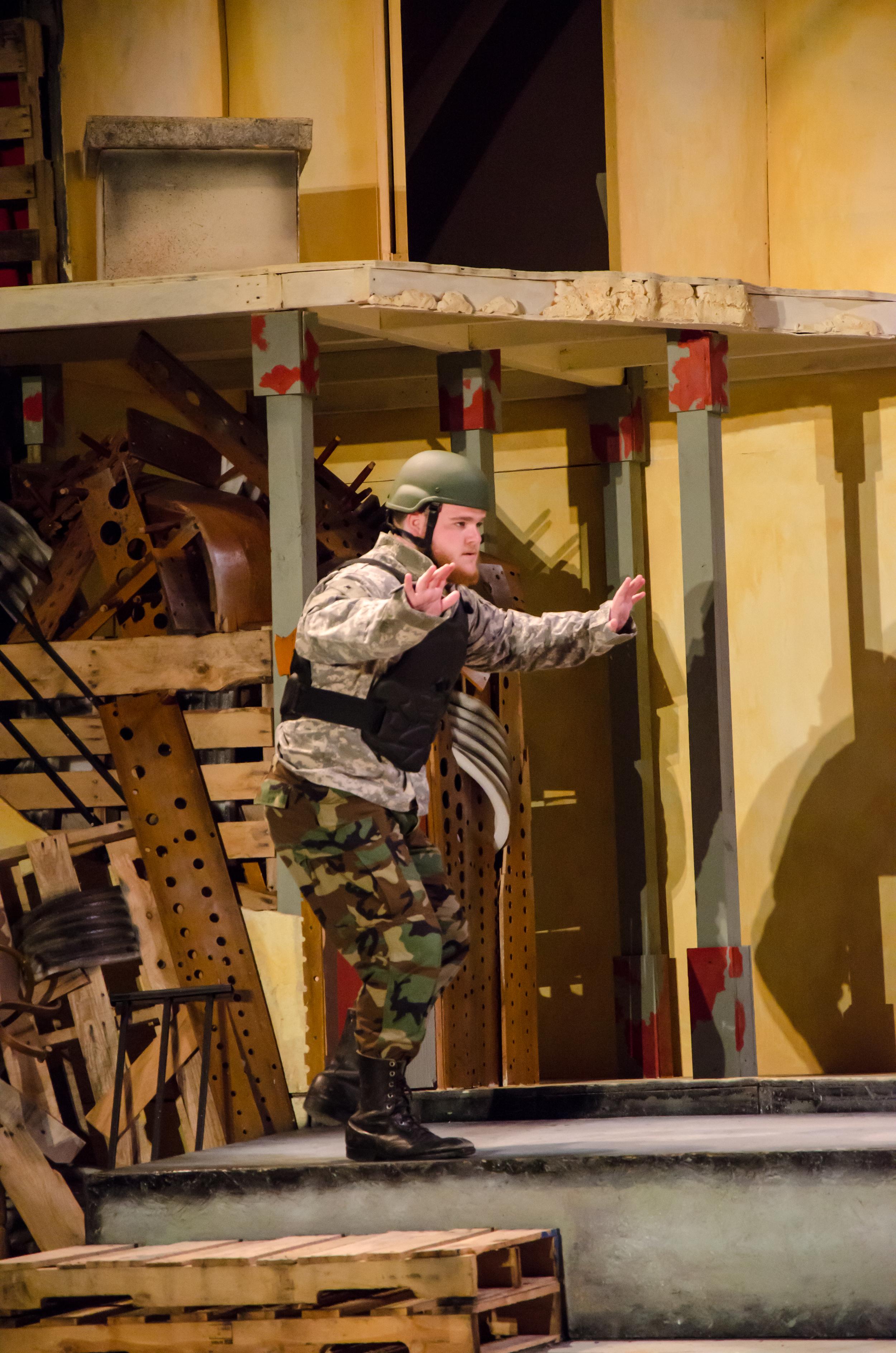 Greek Soldier (Brennan Watt)