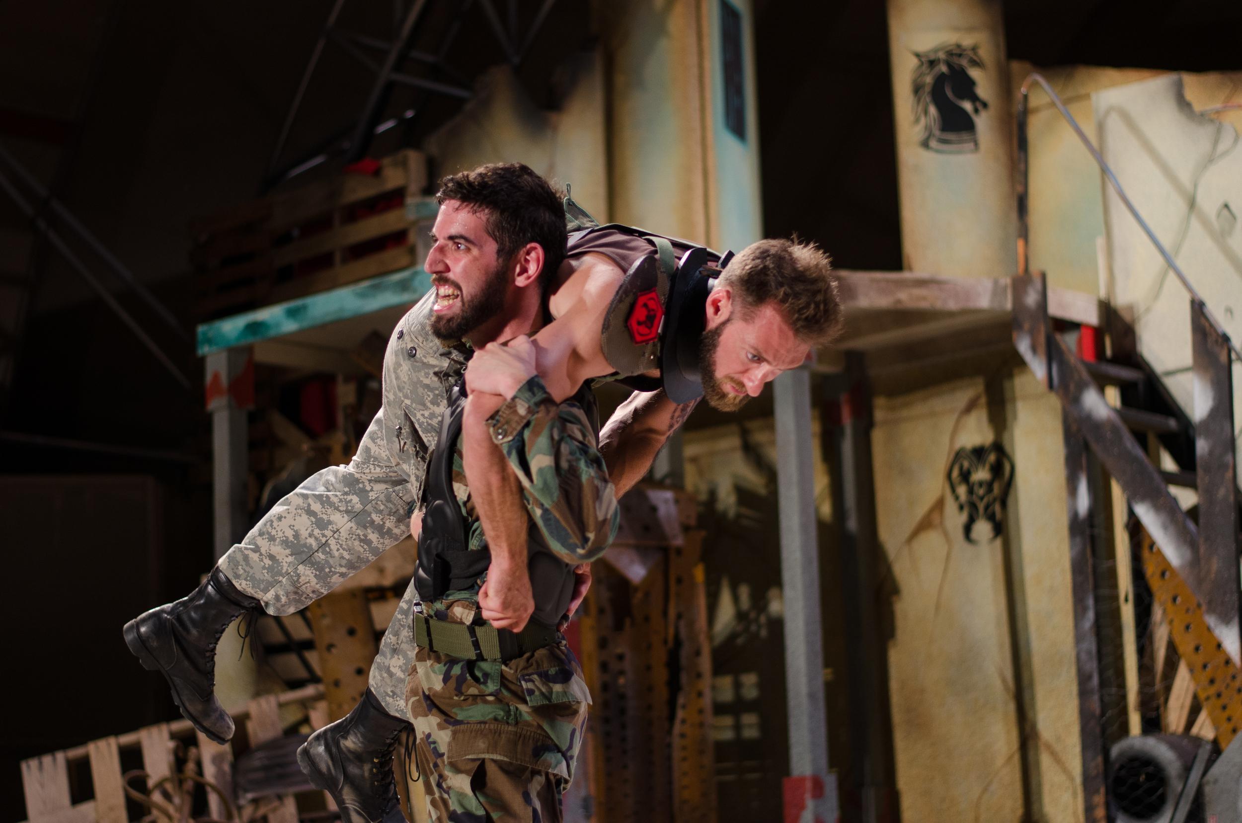 Hector (Sean Adams), Achilles (Sean Adams)