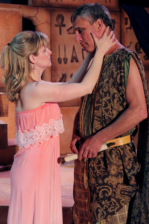 Octavia (Kathryn Miller), Antony (Philip Wheeler)