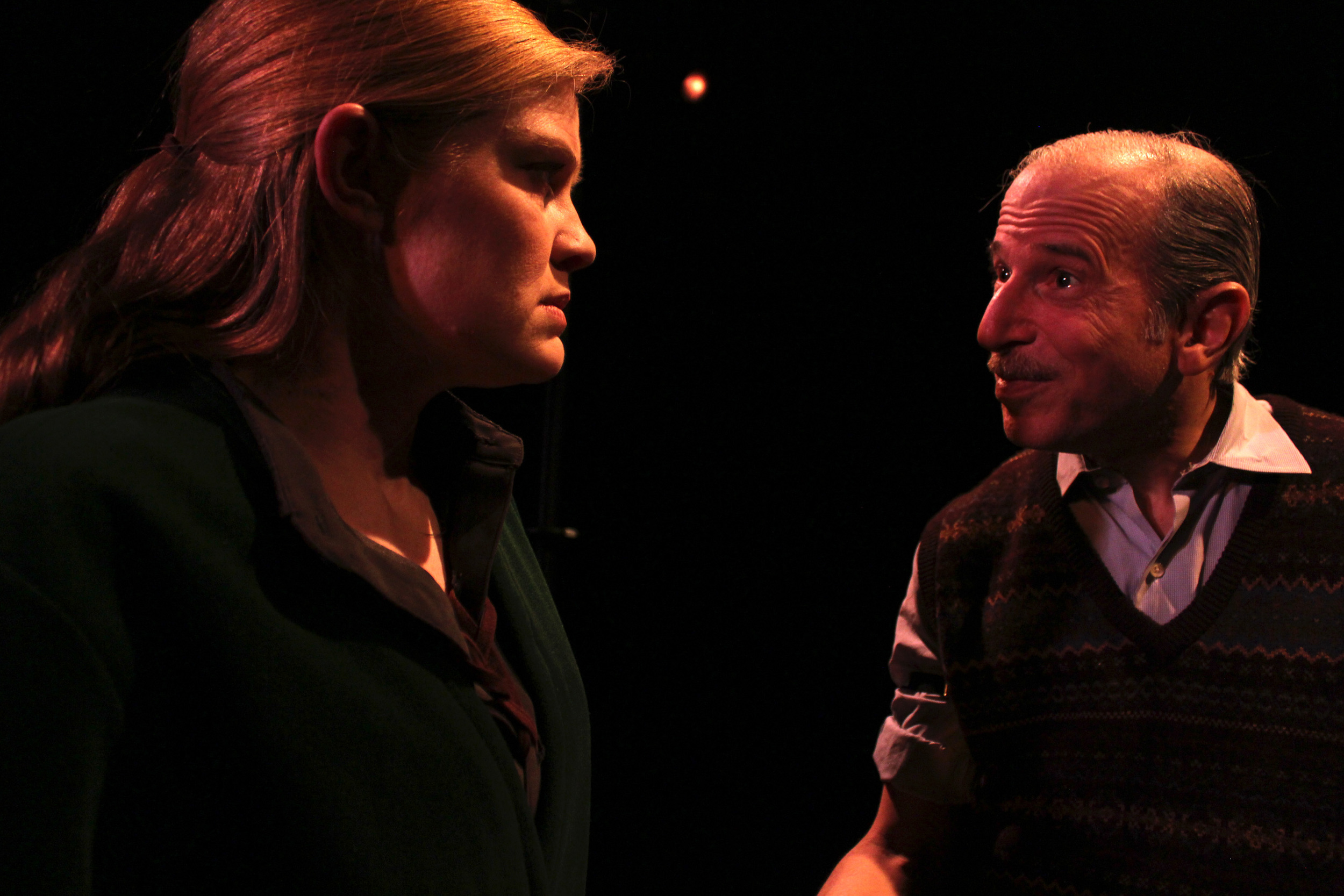 Irene (Amber Mann), Norman (David Newhouse)