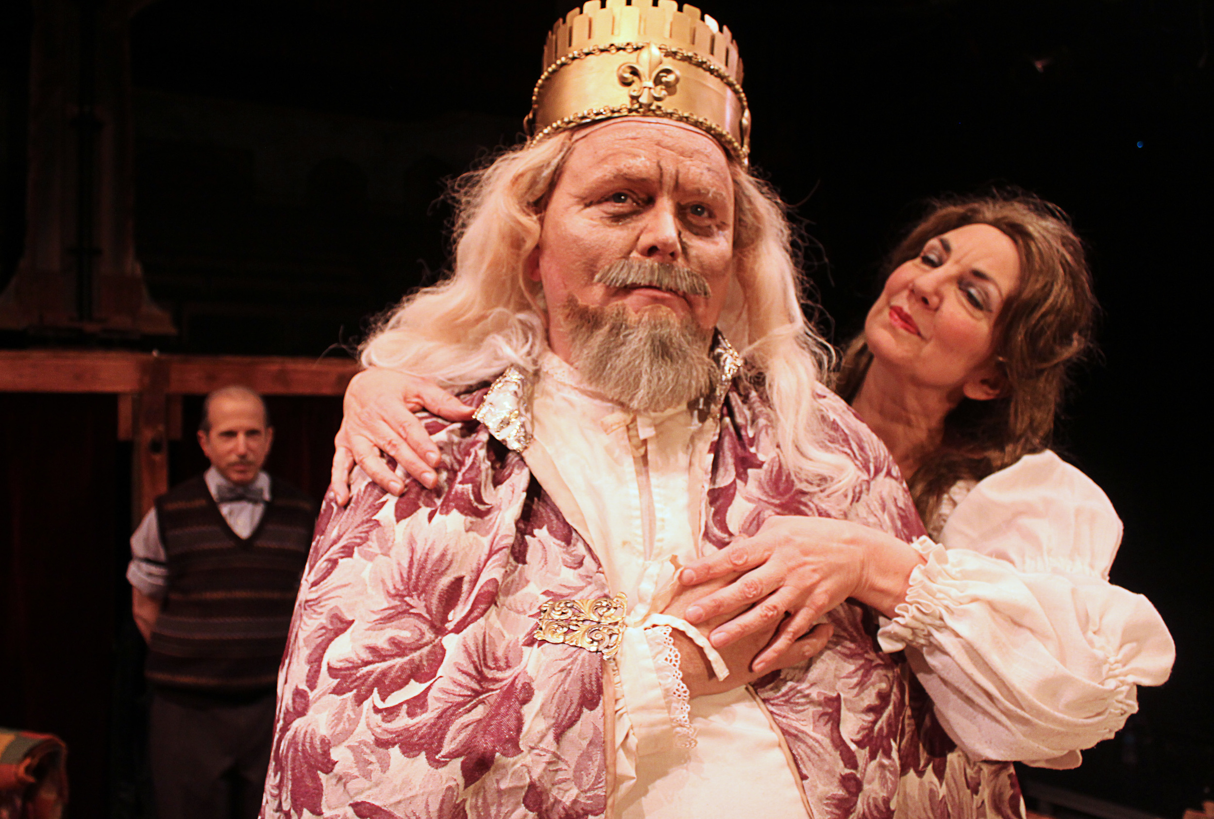 Norman (David Newhouse), Sir (J. Clark Nicholson), Her Ladyship (Cynthia Charles)