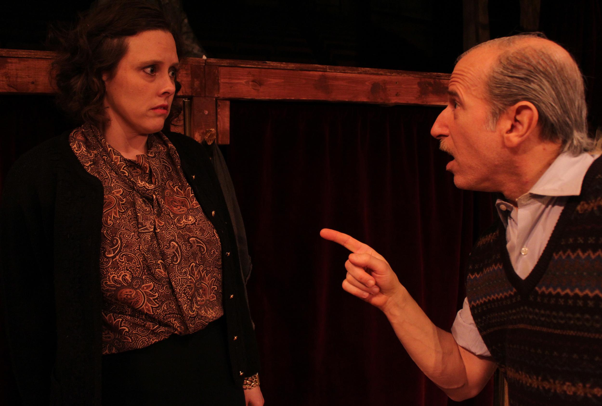 Norman (David Newhouse), Madge (Tara Herweg)