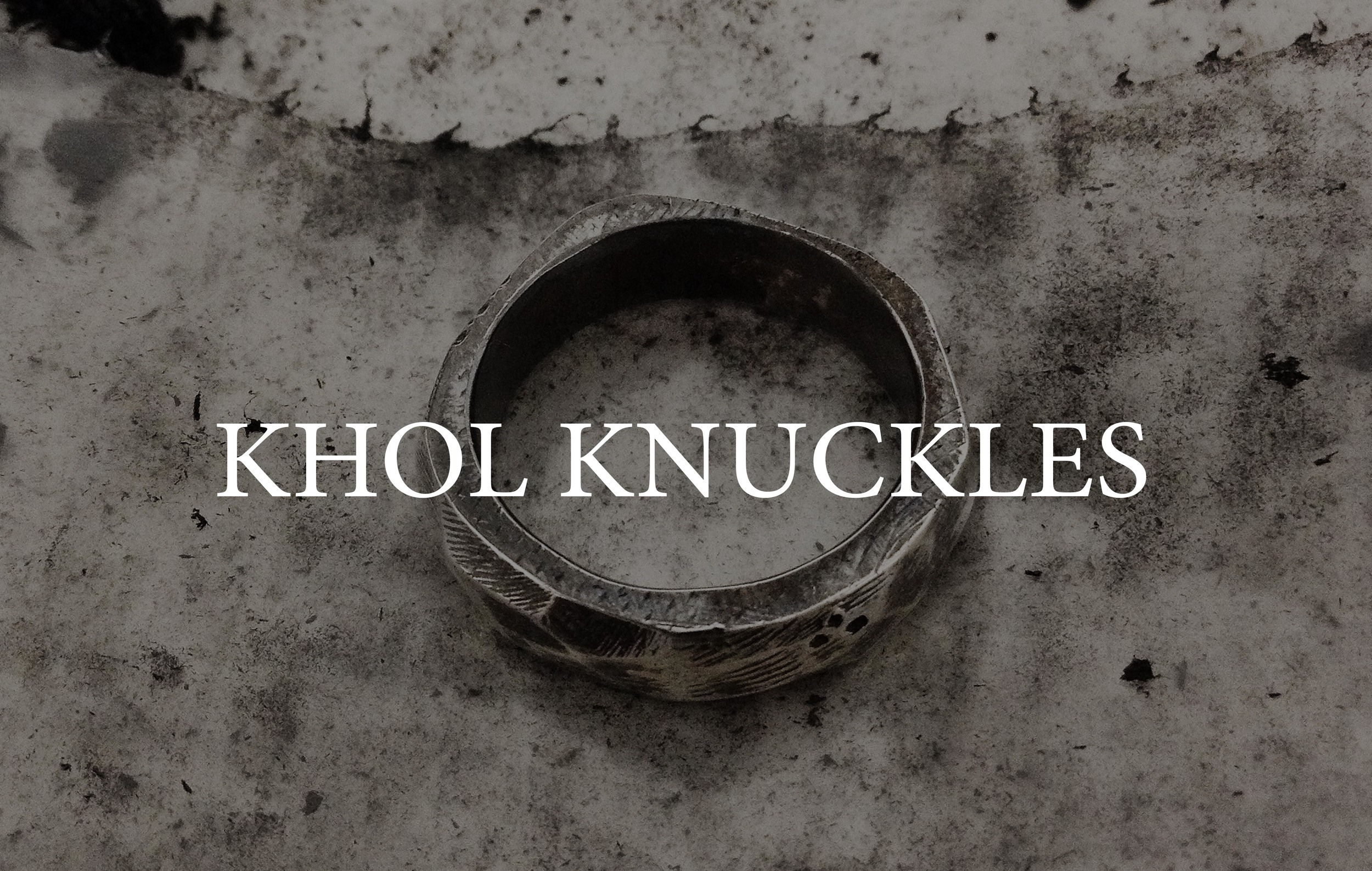 Kohl Knuckles by Raw Taste