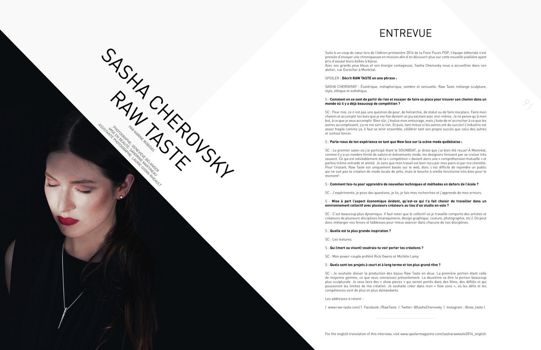Interview with SPOILER MAGAZINE.jpg