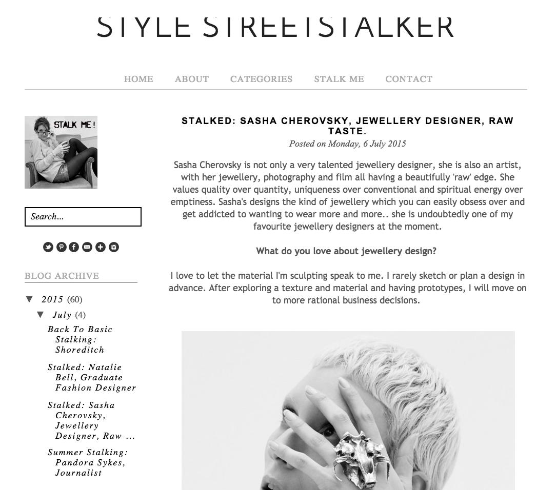 Raw Taste on street style stalker