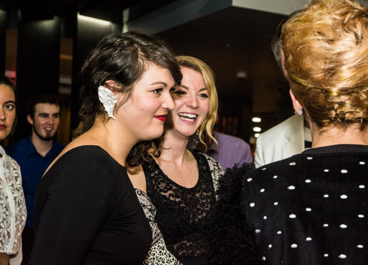 Gala de Ladisq Salle Wilfrid Pelletier  26-octobre-2014  wearing Raw Taste