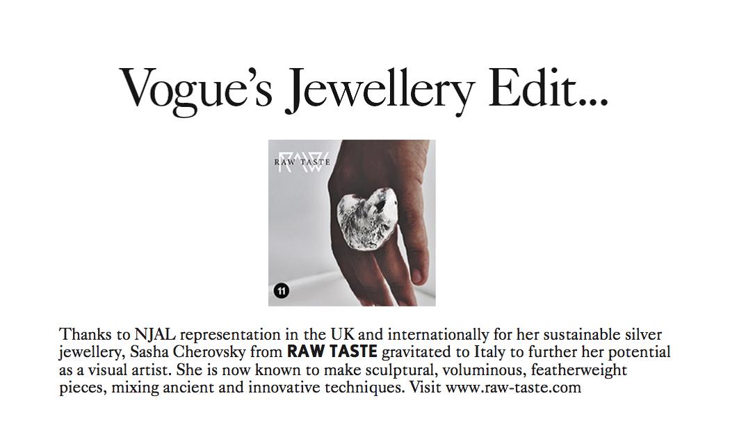 Vogue December 2015