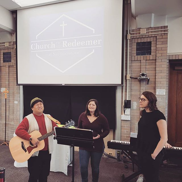 Ready for worship this morning! 10am in Swift 107 :)