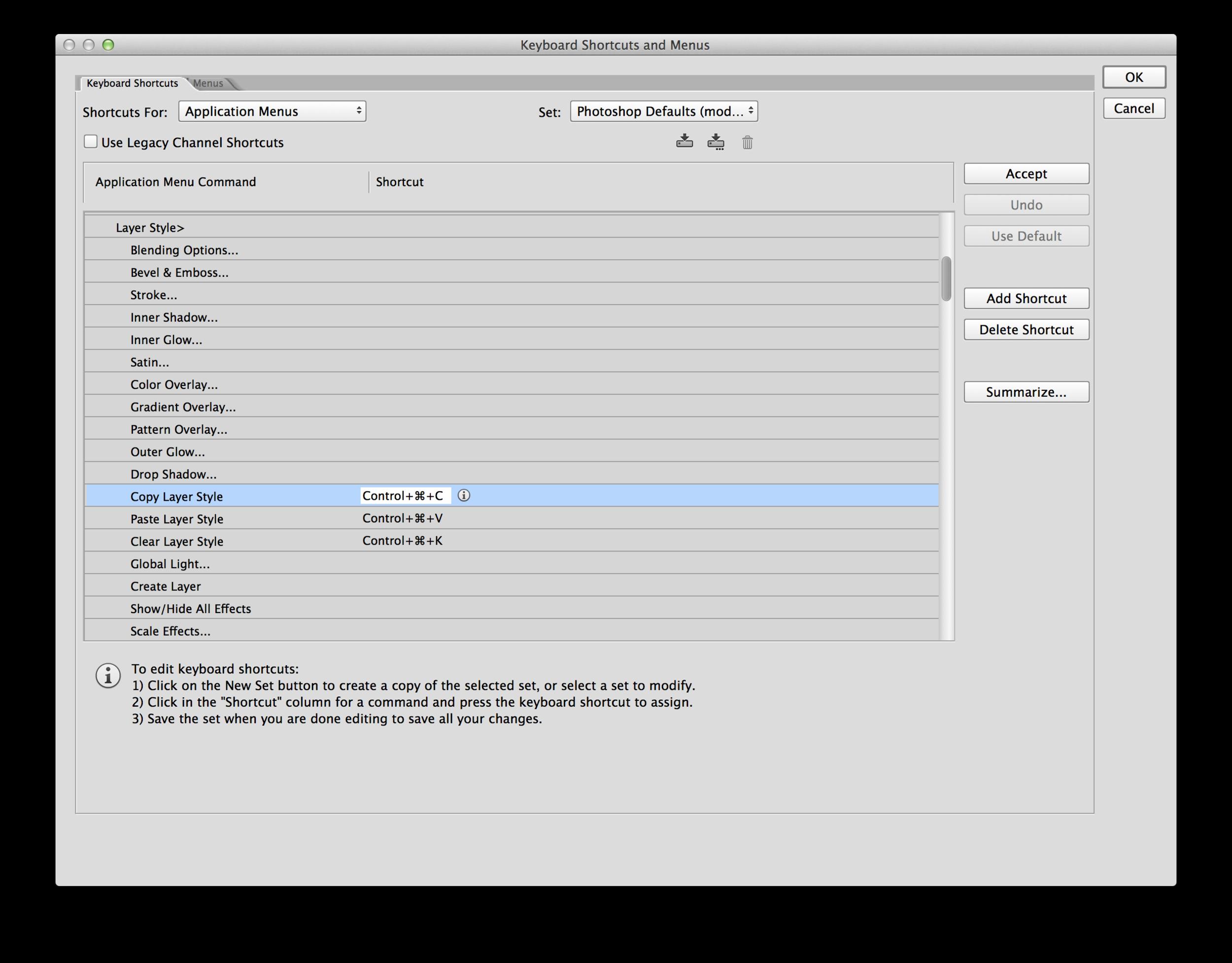 Change the shortcuts via Edit > Keyboard Shortcuts...