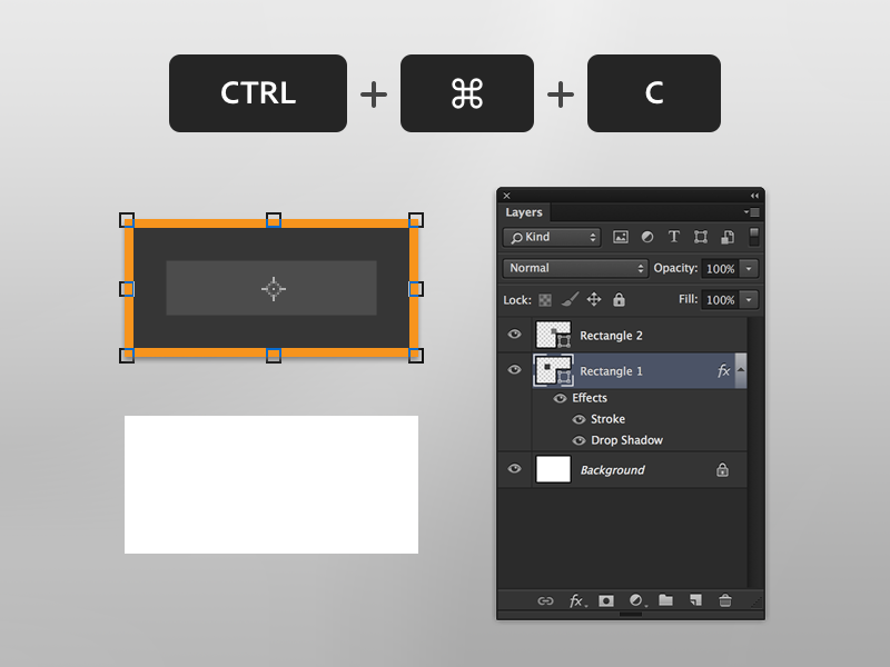 2. Copy Layer Effects