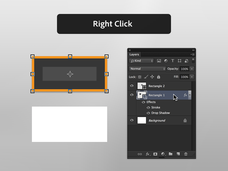 1. Right Click on the Target Layer