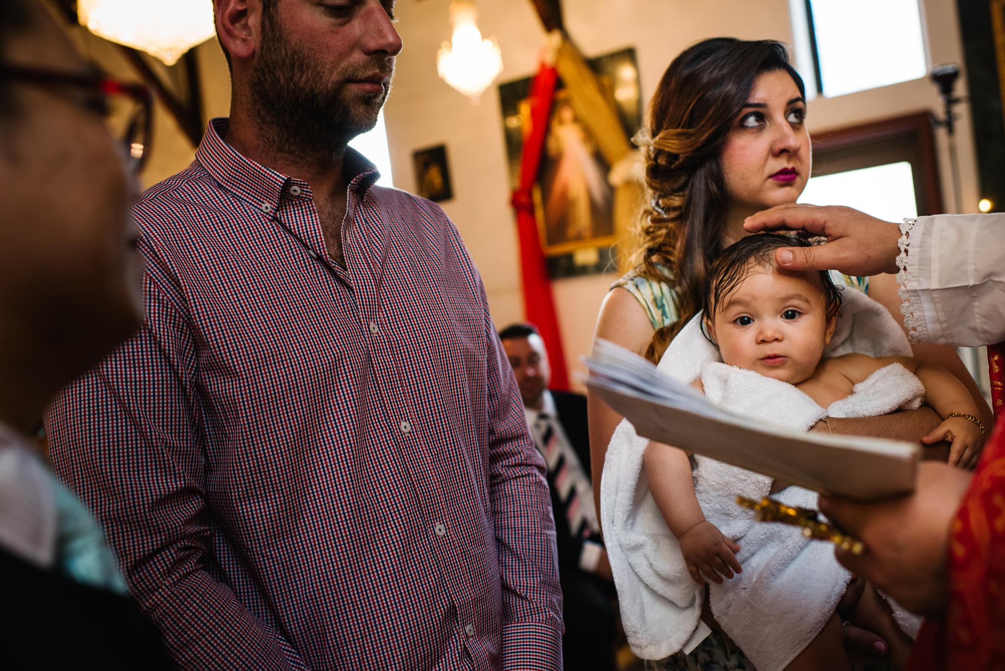 Armenian orthodox christening Sydney