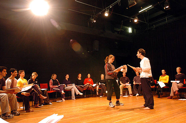 Acting classes with Jana and Charlotte -