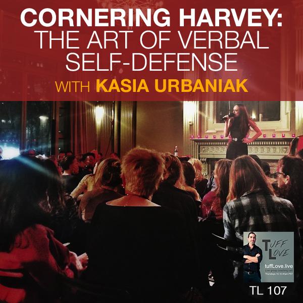 Verbal self defense with Kasia Urbaniak -