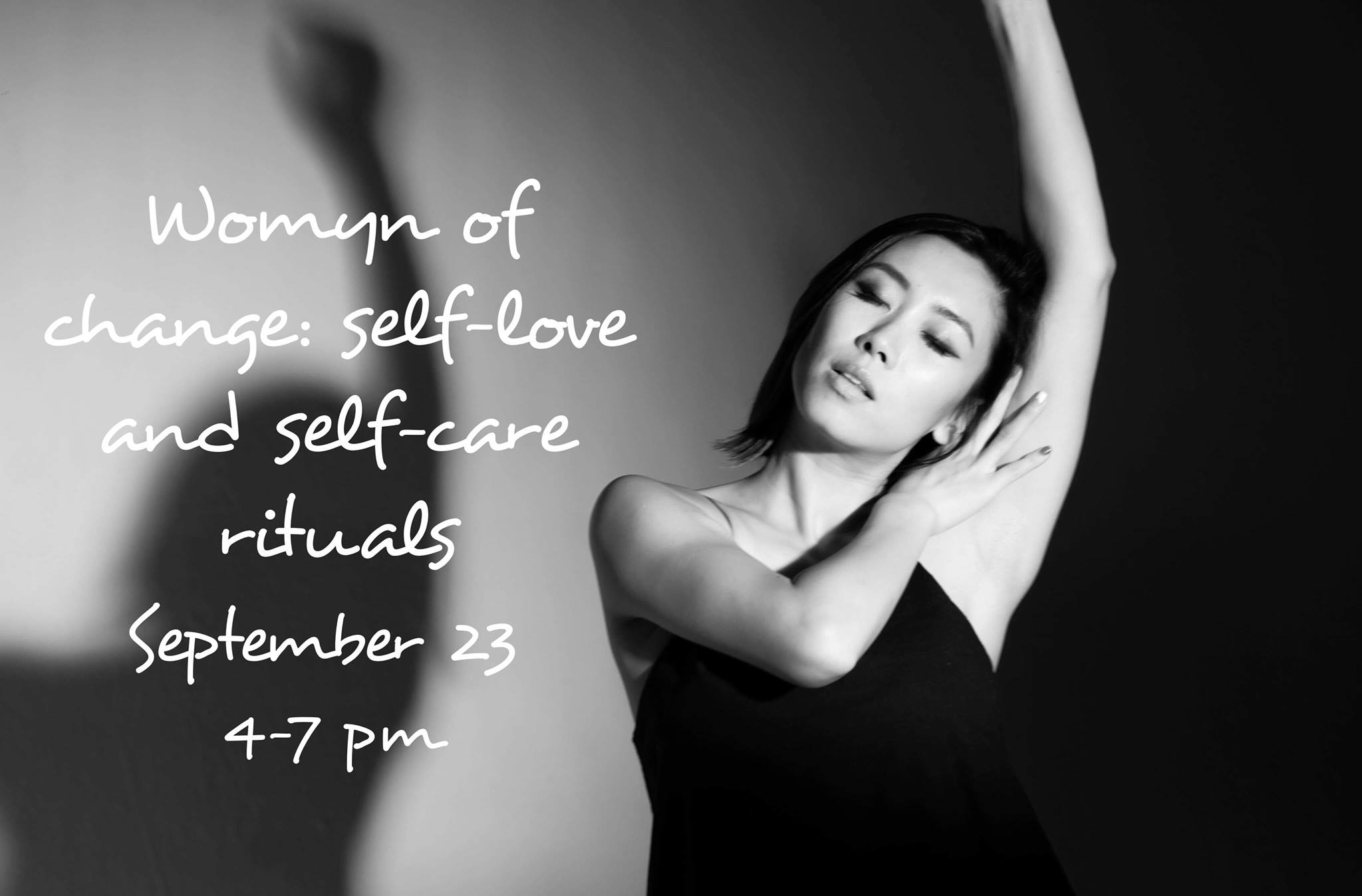 Womyn of change - SupeRoleModel Kristina Block leads a workshop for women with self care and self-love rituarls