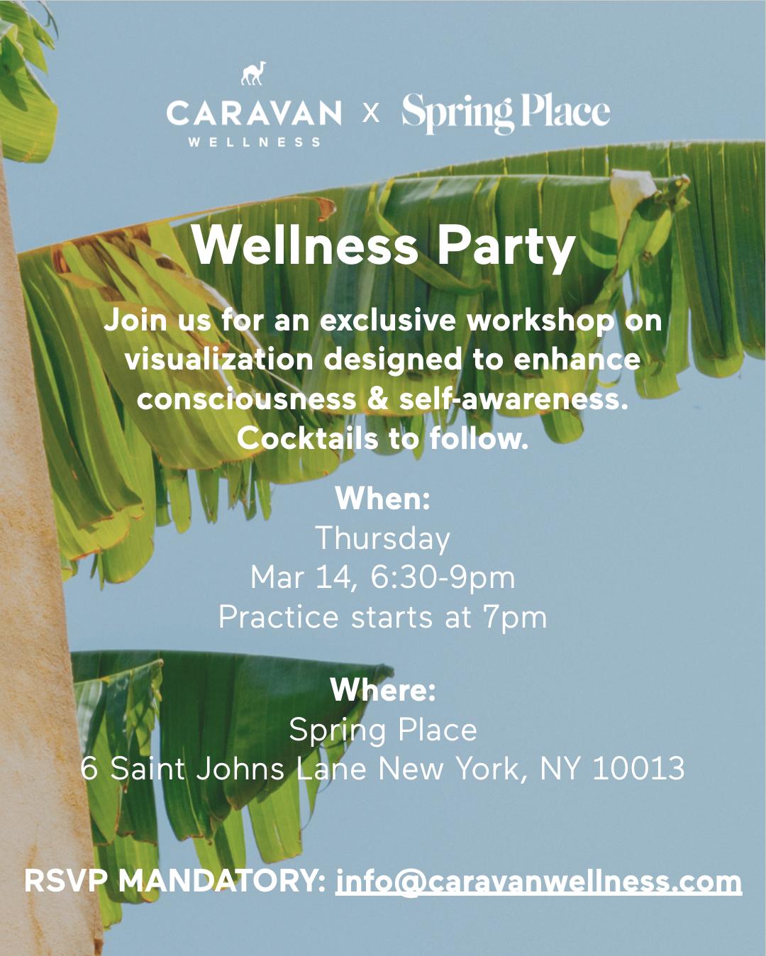 Caravan Wellness - Introduction to visual meditation
