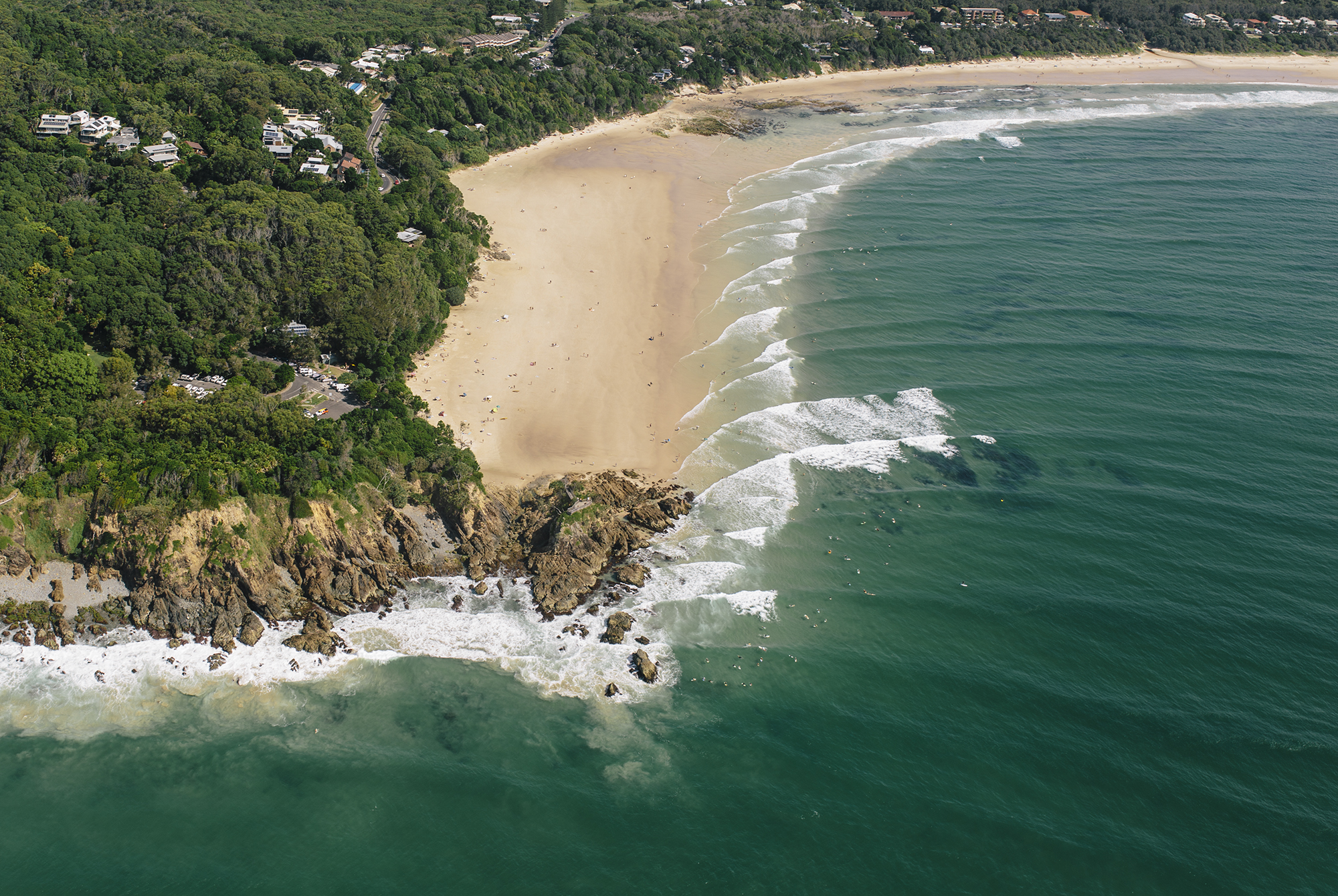 Byron Bay Lighthouse Aerial Image