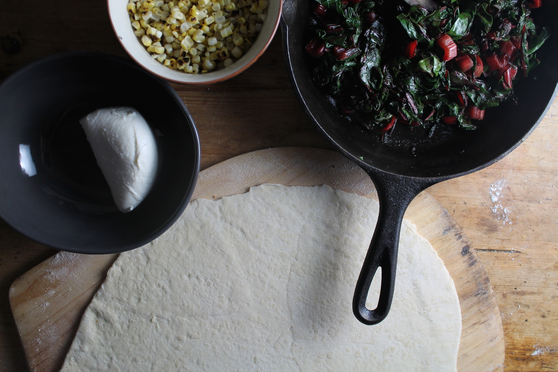 Pizza Mise En Place | www.hungryinlove.com