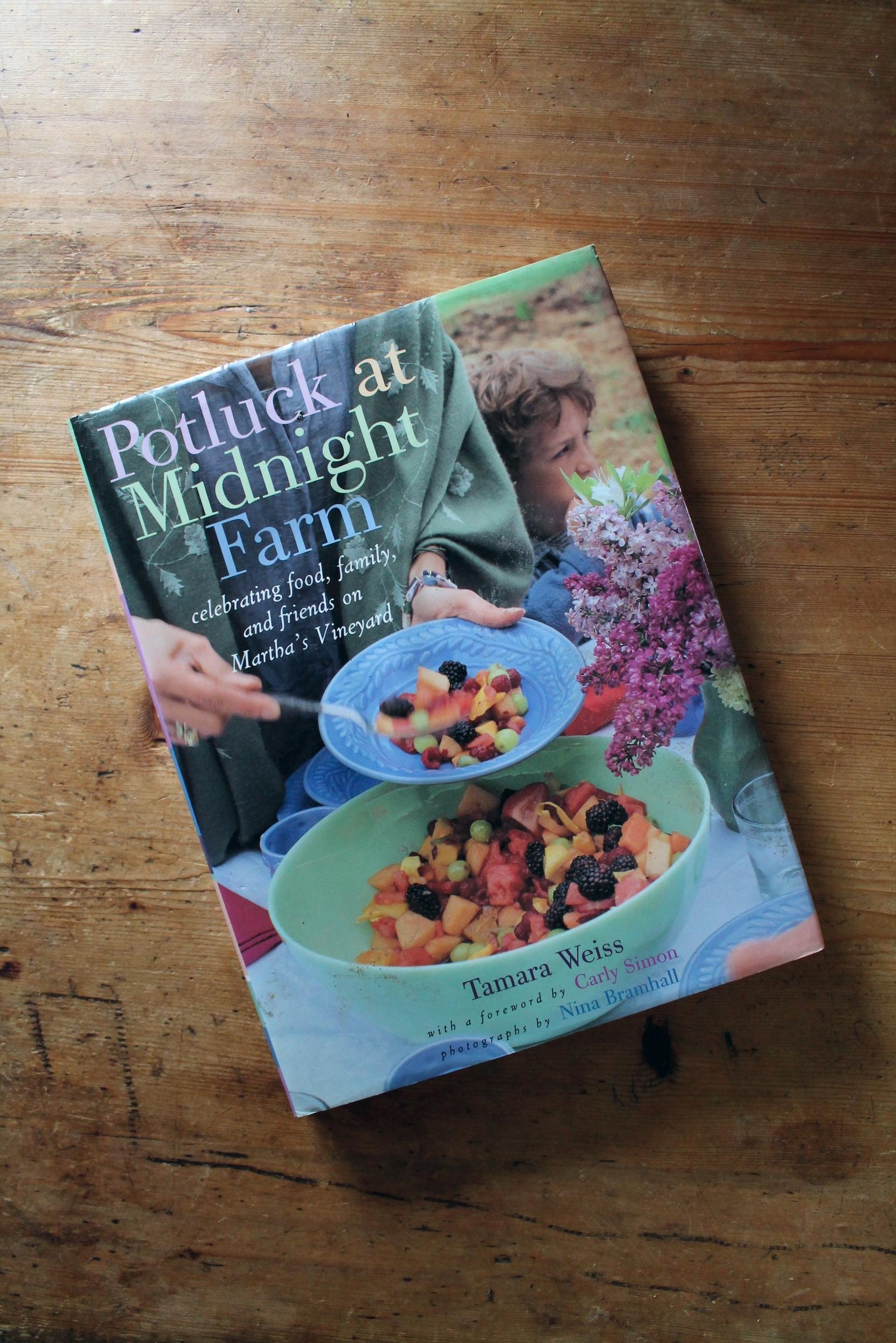 Potluck at Midnight Farm Cookbook | www.hungryinlove.com