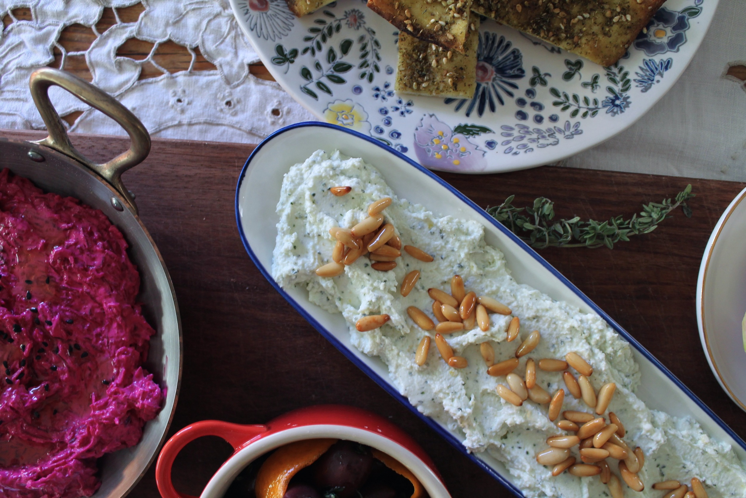 Whipped Feta | www.hungryinlove.com