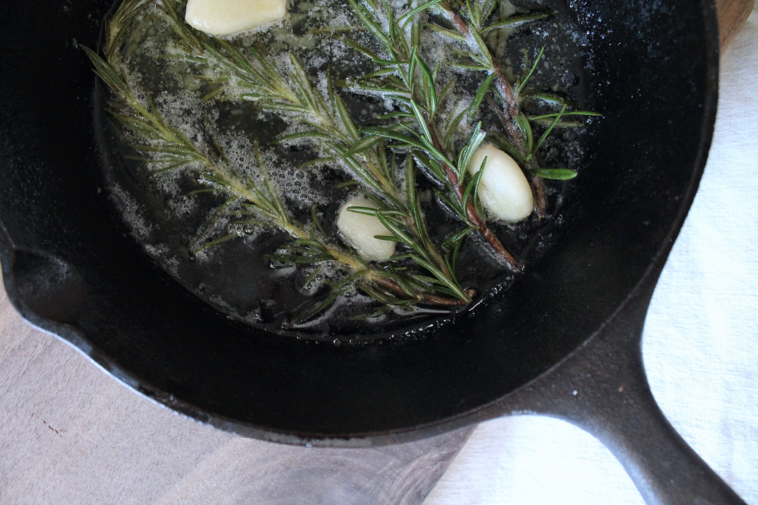 Rosemary Garlic Butter | www.hungryinlove.com