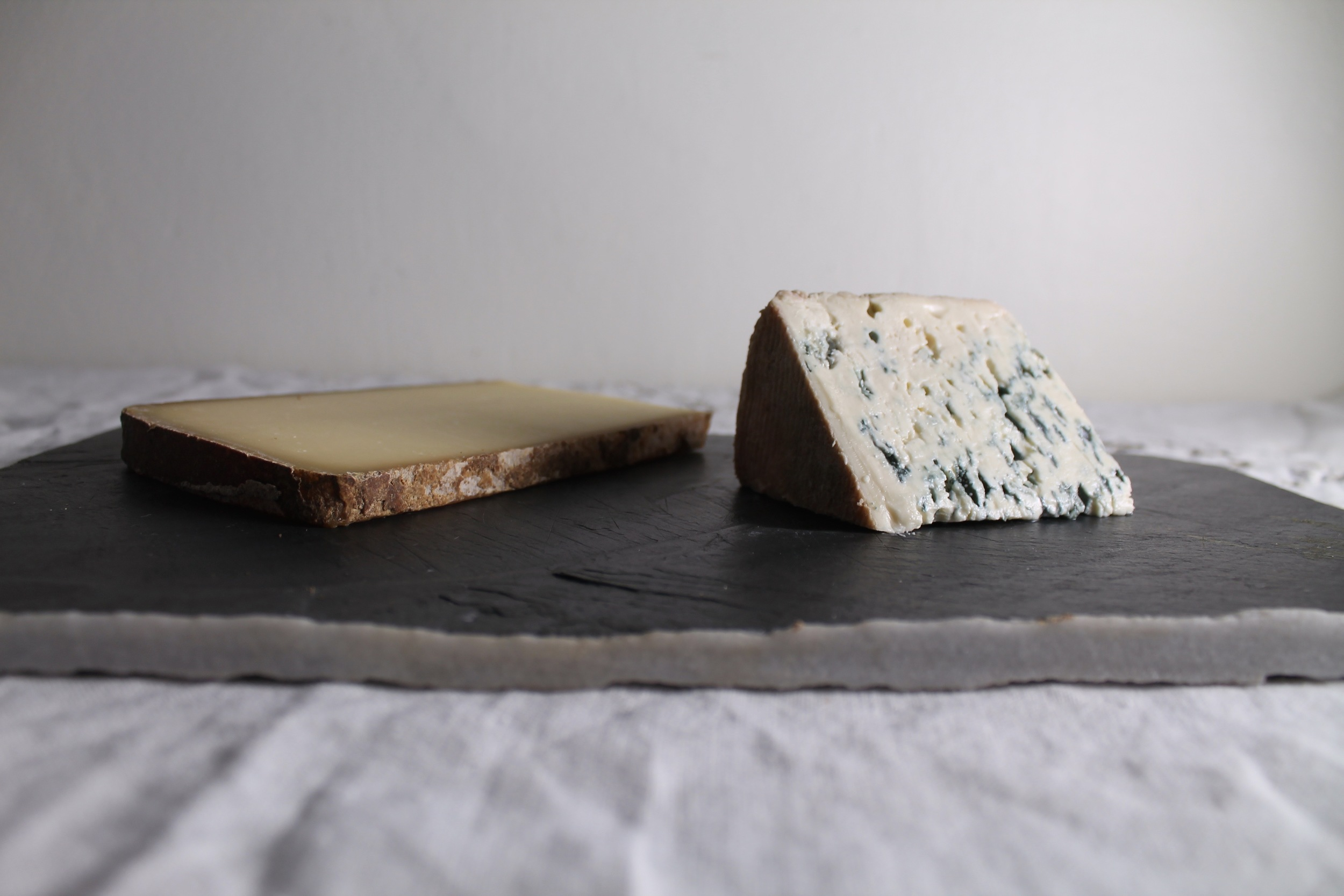 Comte + Blue Cheese | www.hungryinlove.com
