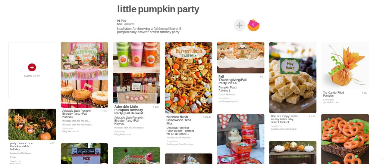 little pumpkin party ideas
