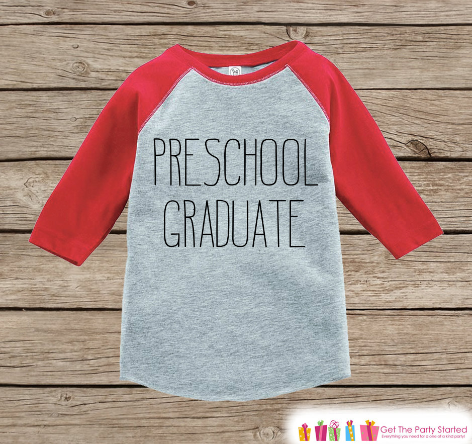 Preschool Graduate Raglan Tee