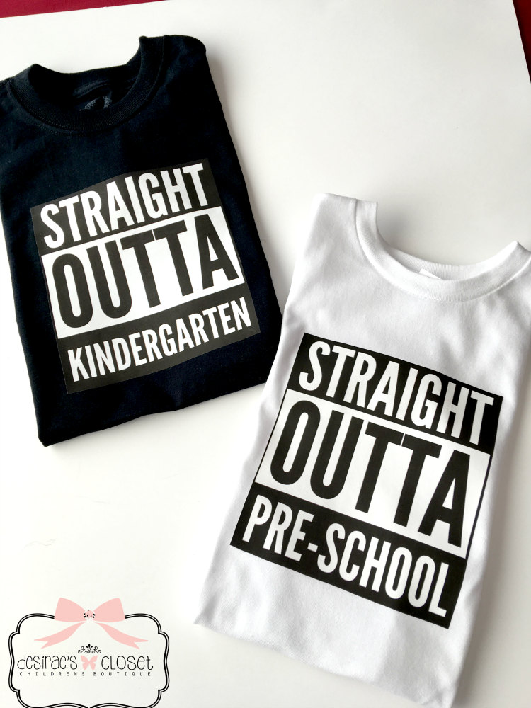 Straight Outta Preschool Shirt