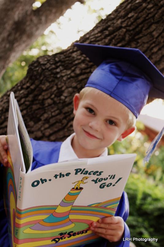 Preschool Graduation Picture
