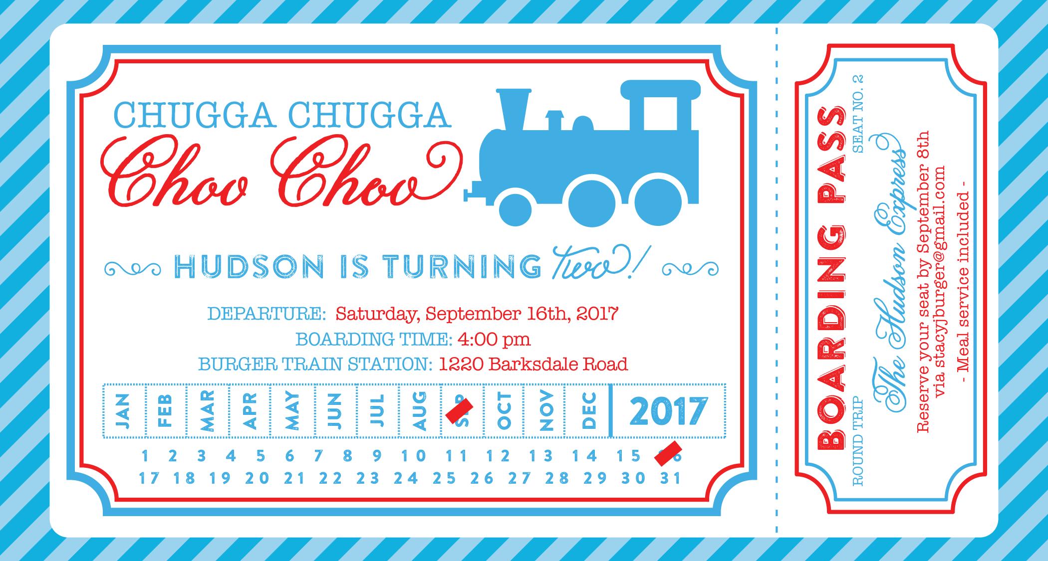 train invitation