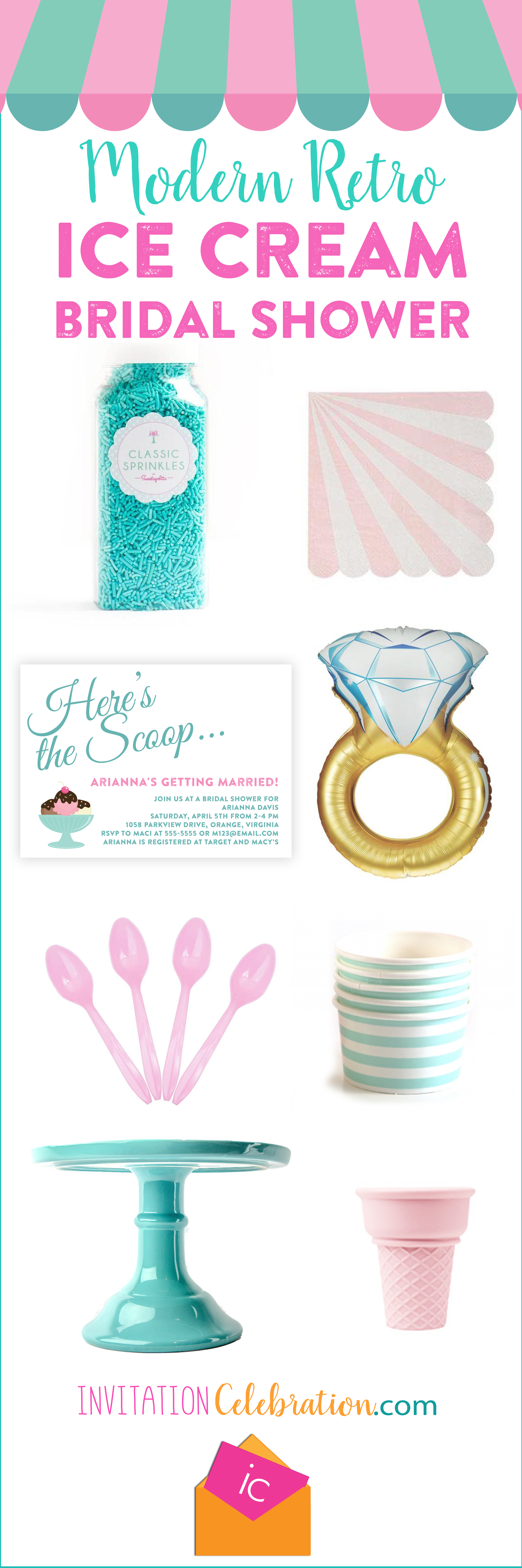 Must haves for any ice cream party!