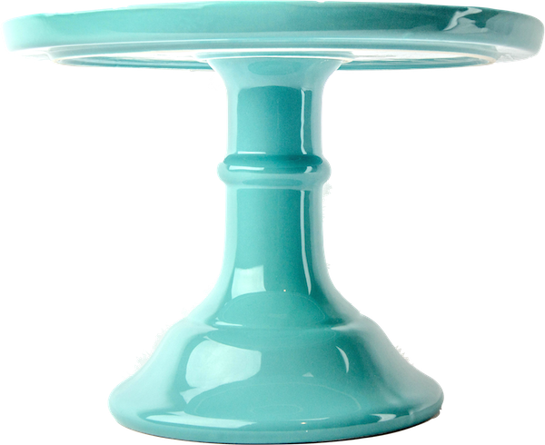 Aqua cake stand from  Sprinkles and Confetti
