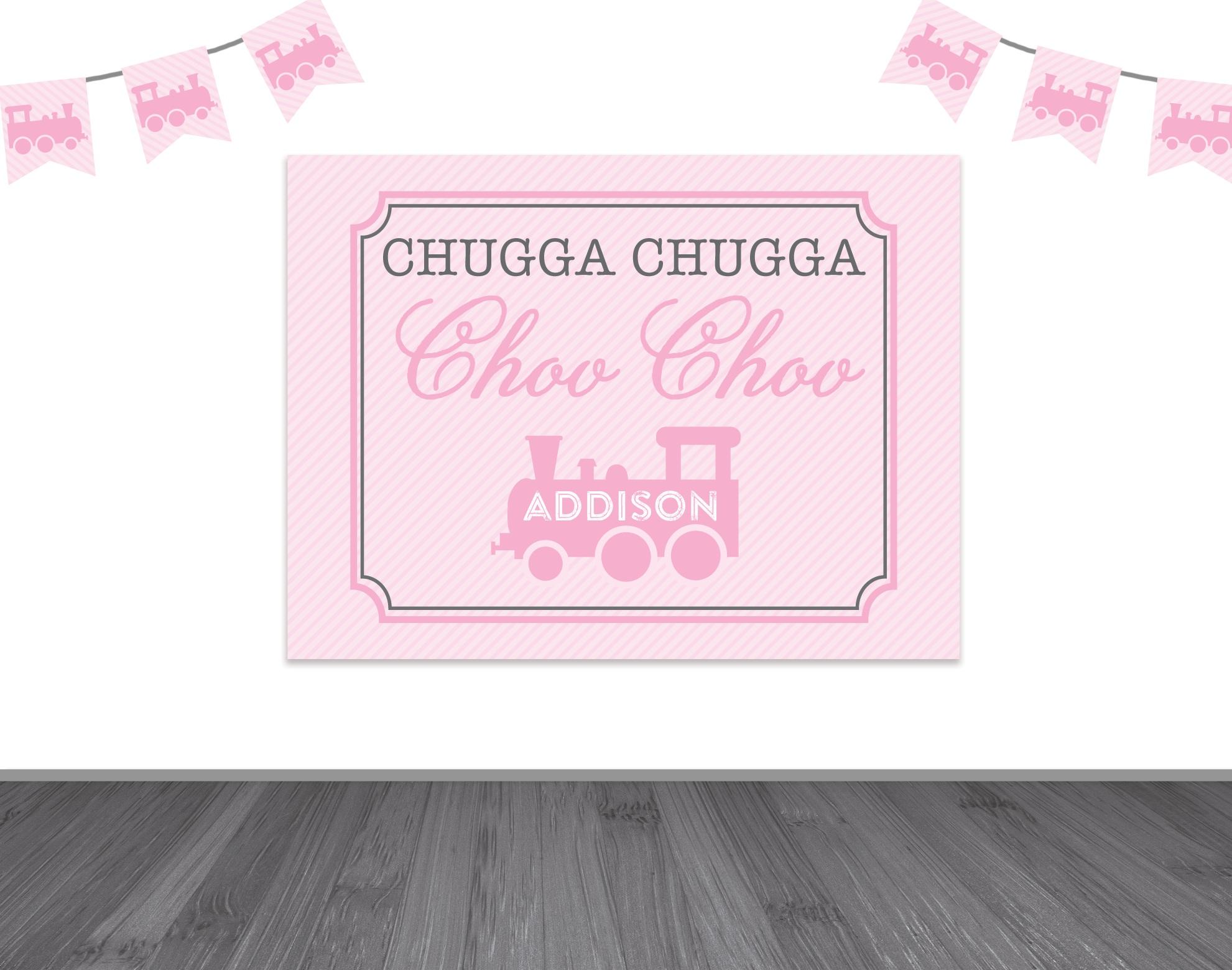 chugga chugga two two backdrop