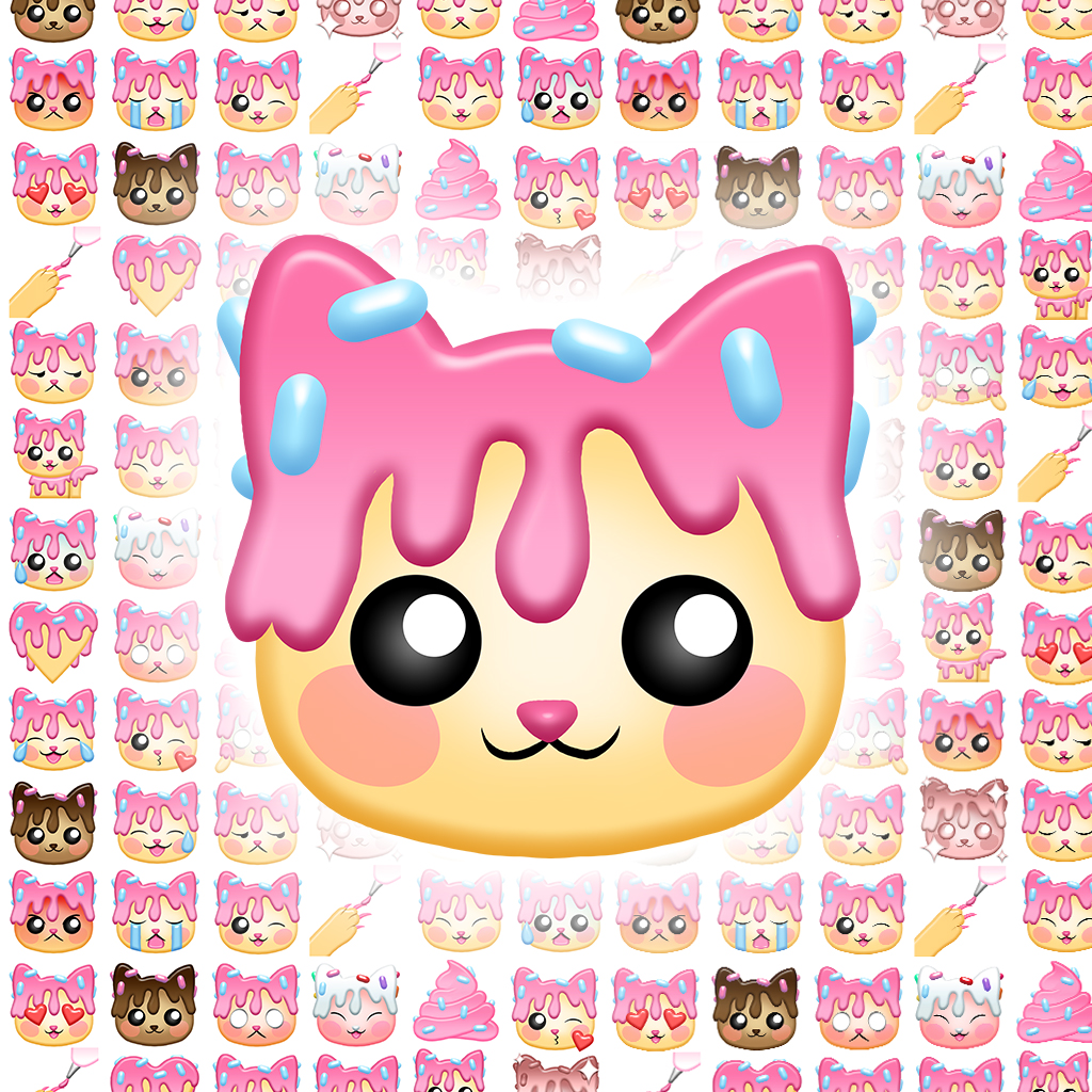 Donekomoji   Doneko-themed Emoji Stickers for iOS devices!  $0.99 on iTunes