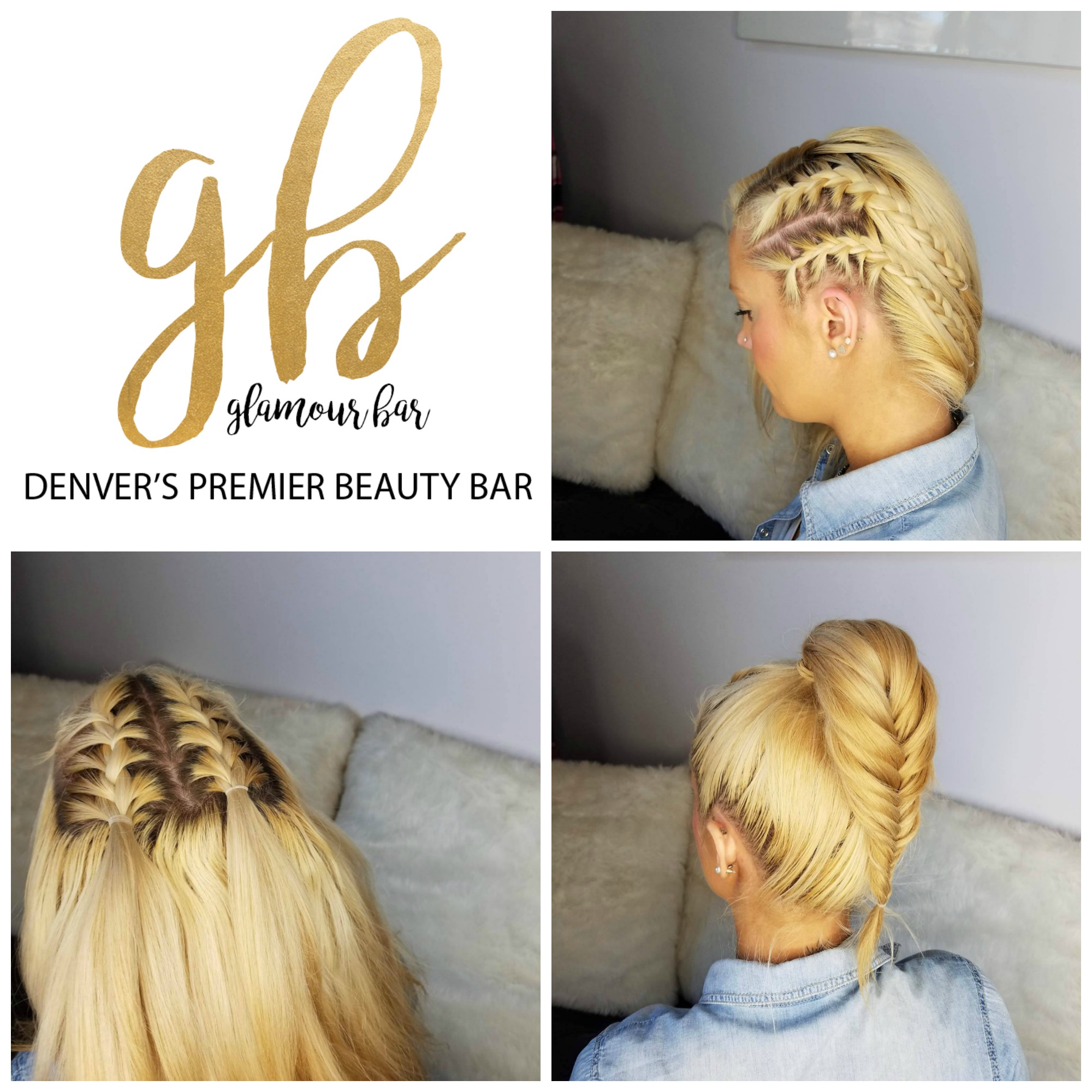 bRUNch n' braids  bRUNch is excited to announce that  Glamour Bar Denver  will be hosting a pop-up braid bar at the 5th Annual bRUNch Run! Sip on a mimosa and get your braided for $10-$15 (based on style and difficulty of braid).  Look good before your run, during your run, or after your run!   #bRUNchnbraids