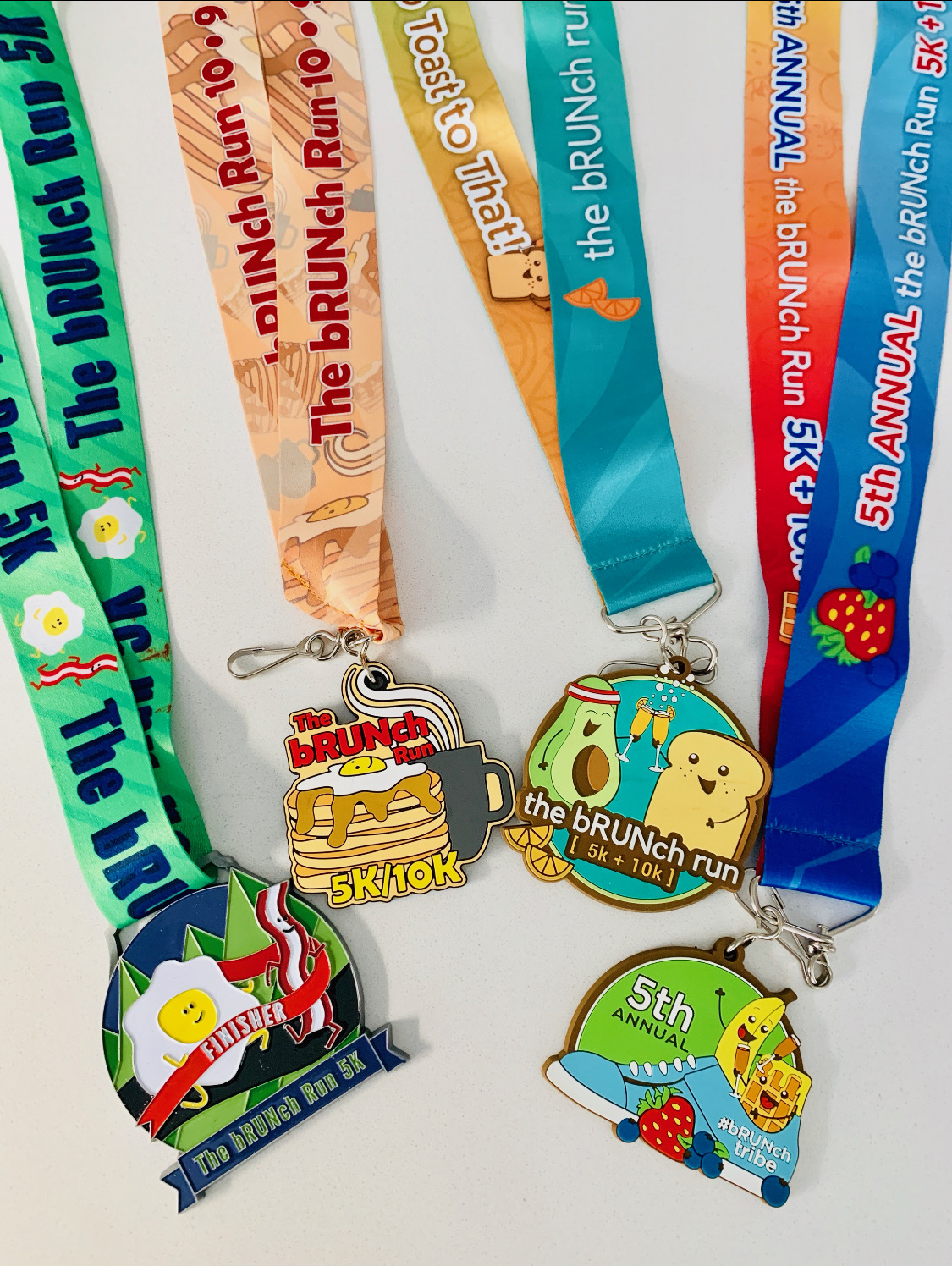 Previous Race Medals
