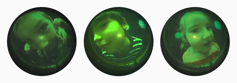 Video stills: Peephole , 2006