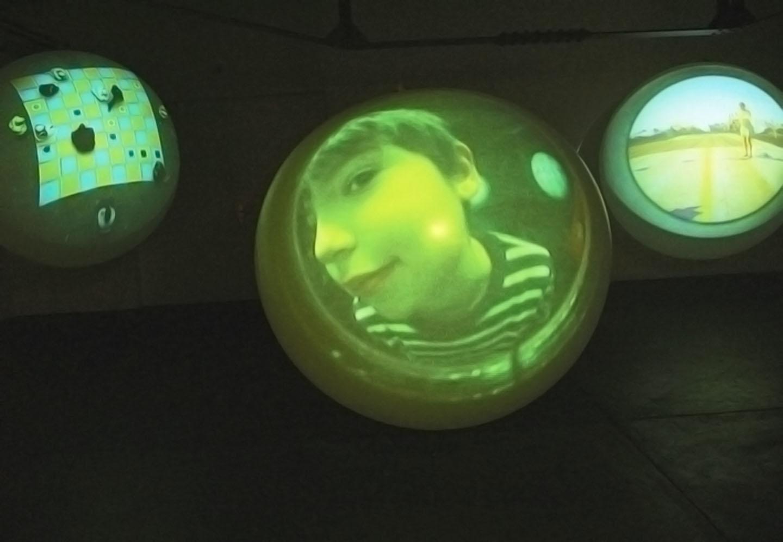 A view to the Planets 2006, Solo exhibition Forum Vebikus, Schaffhausen. Photo: Stefanie Loher