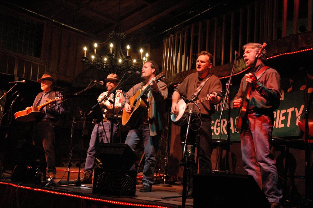 The Fretter's at Brookdale Bluegrass Fest 2004